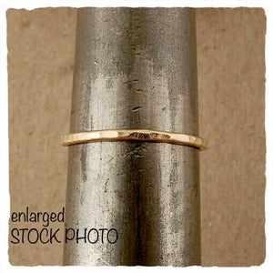 j and i 14k RING