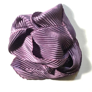CATHAYANA PLEATED SCARF