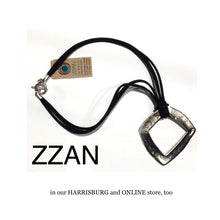 Load image into Gallery viewer, ZZAN NECKLACE handmade -  silver pendant