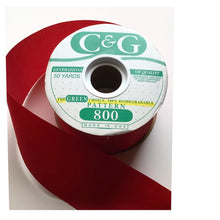 Load image into Gallery viewer, RIBBON RED SATIN C&G