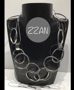 ZZAN NECKLACE LONG CIRCLE