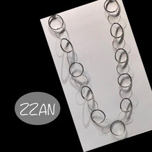 Load image into Gallery viewer, ZZAN NECKLACE LONG CIRCLE
