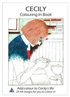 CECILY Colouring in book