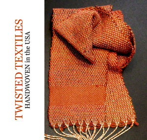 TWISTED TEXTILES SCARF