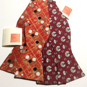 FRANK LLOYD WRIGHT BOWTIES