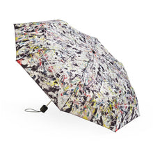 Load image into Gallery viewer, Jackson Pollock White Light Umbrella