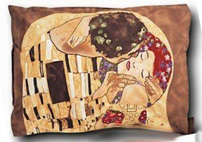 Gustav Klimt Std. Pillow Sham The Kiss
