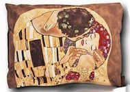 Boxelder Klimt Standard Pillow Sham: The Kiss