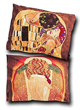 Load image into Gallery viewer, Boxelder Klimt Standard Pillow Sham: The Kiss