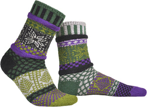SOLMATE CREW SOCKS for HIM or HER - LARGE