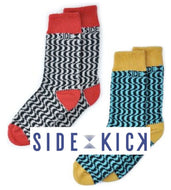 SIDEKICK SOCKS for HIM or HER