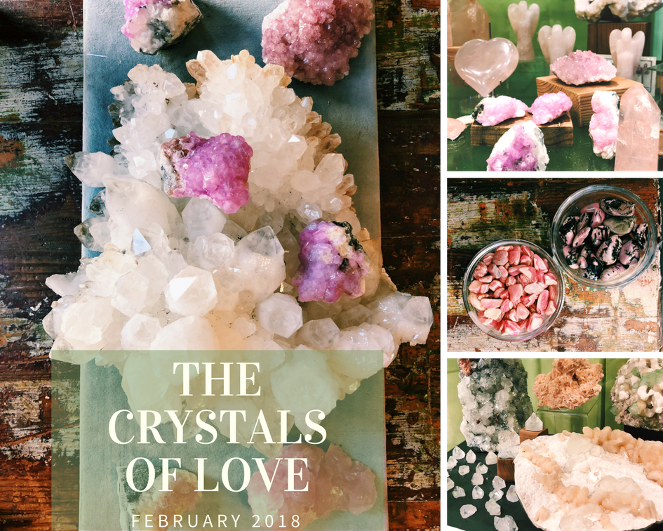 THE CRYSTALS OF LOVE -  2018 Part 1