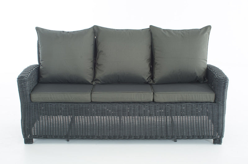 Sofa 3er Fisolo Anthrazit 5mm - JNS-Trade
