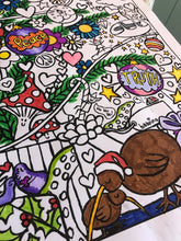 Load image into Gallery viewer, Crazy Kinda Christmas Colouring Poster