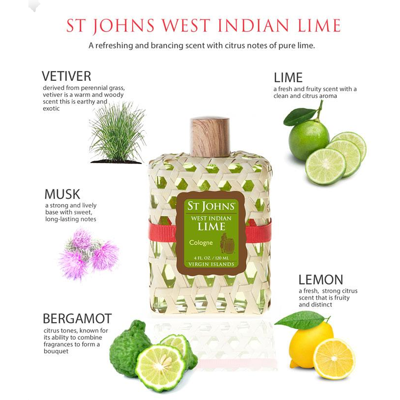 St Johns Lime Cologne