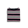 Boatneck Three Color Sweater