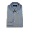 Blue Prince of Wales with Yellow Windowpane Button Down