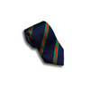 Navy and Kelly Green/Orange Reppe Stripe Tie