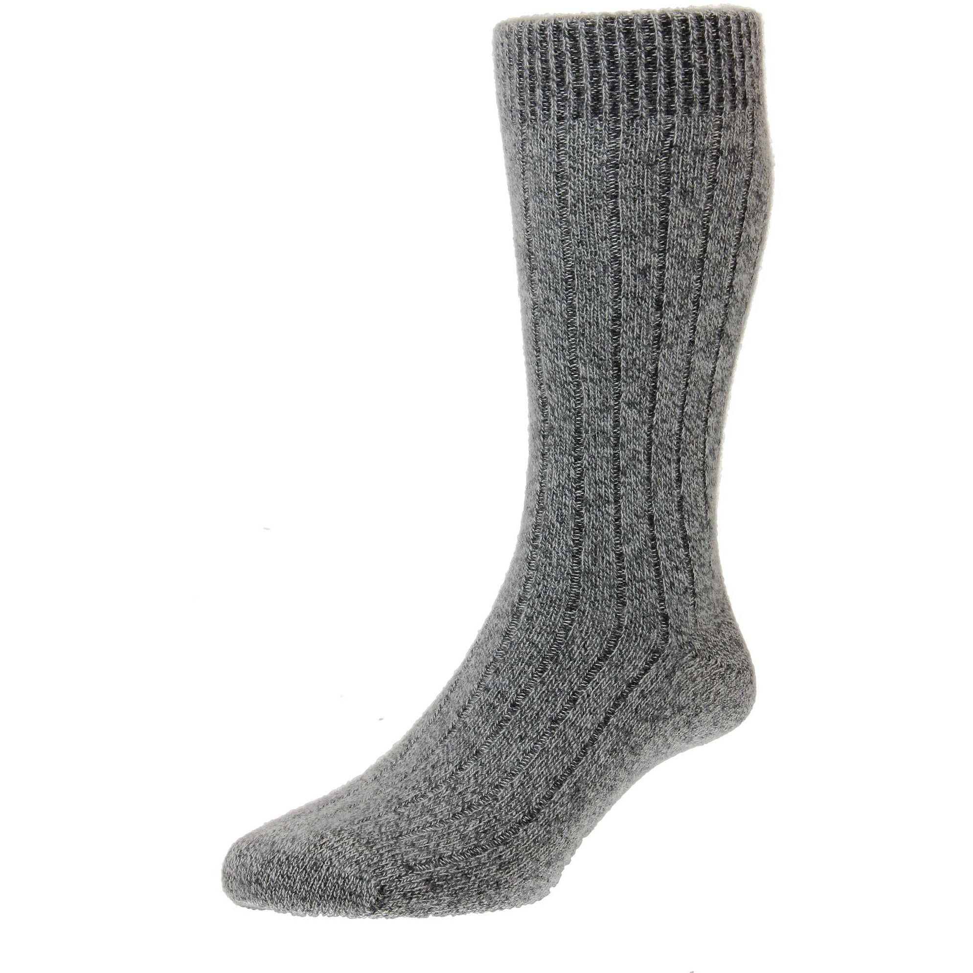 Waddington 5x1 Rib Cashmere Dress Socks