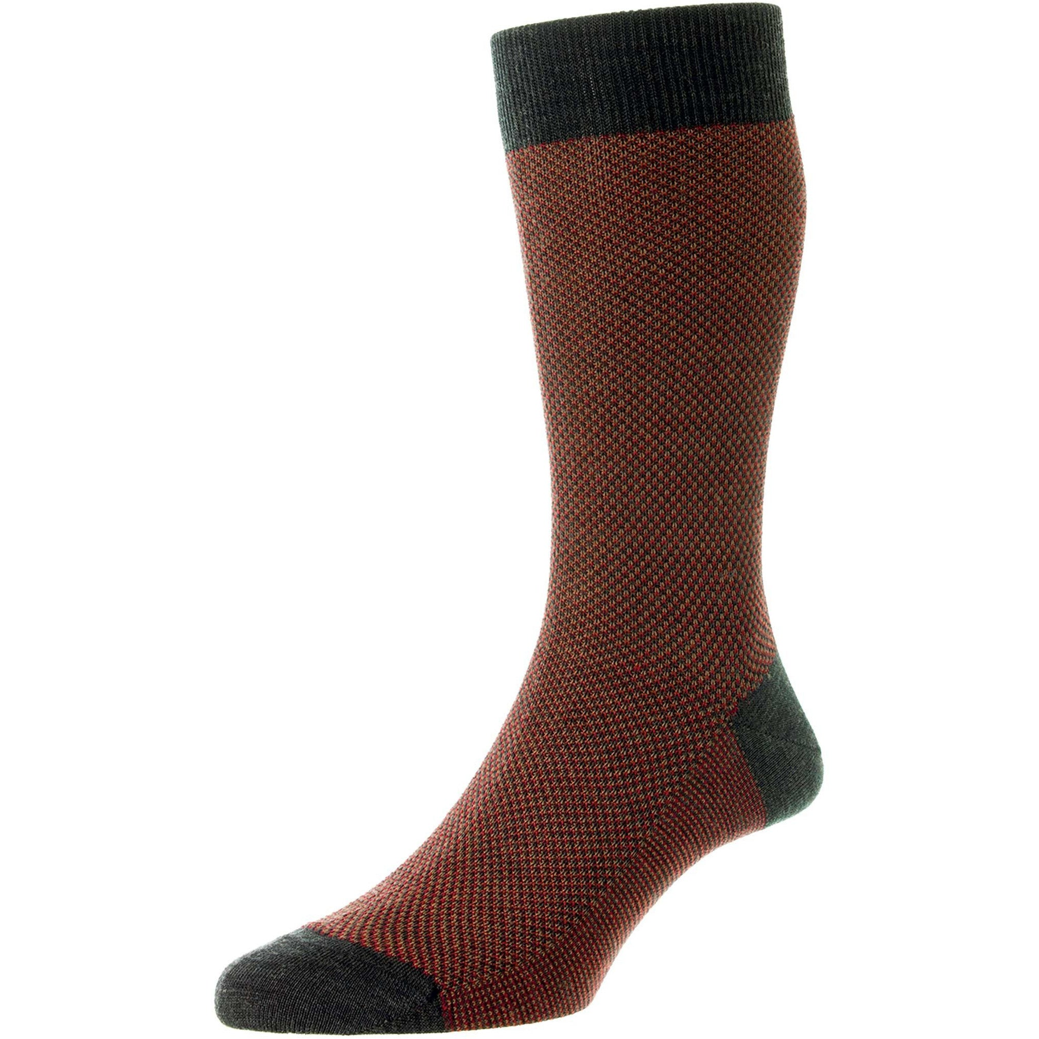 Blenheim 3-Color Birdseye Merino Wool Socks