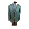 Derby Green Jacket with Blue Windowpane