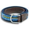 Rowing Leather Tab Belt