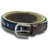 It's 5 O'Clock Somewhere Leather Tab Belt