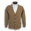 Camelhair Cardigan Sweater