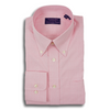 Pink Prince of Wales Button Down Dress Shirt