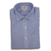Blue Banker Stripe Dress Shirt