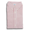 Red Bengal Stripe Button Down Shirt