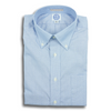 Blue End on End Button Down Shirt