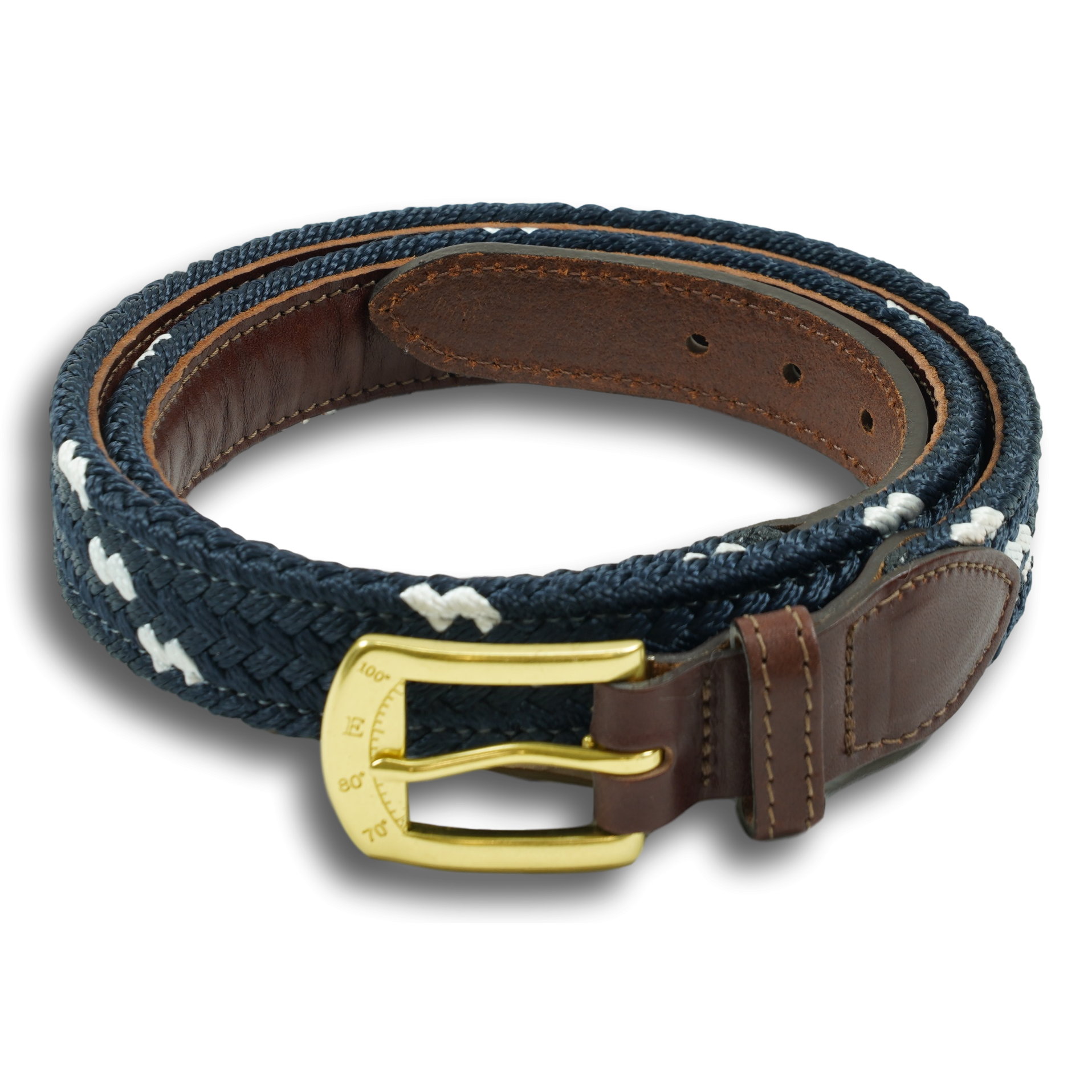Leather-backed Mariner Belt