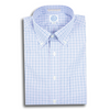 Lavender and Navy Check Button Down