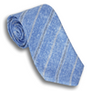 Rustic Blue Striped Silk Tie