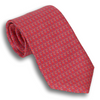 Red Silk Butterfly Tie