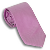 Magenta and Silver Silk Woven Tie