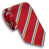 Red with Gold/Blue/Silver Reppe Tie