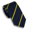 Navy and Gold Reppe Stripe Tie