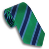 Light Green and Sky Blue/Navy Reppe Tie