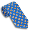 Royal Blue with Paisley Pattern Tie