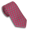 Raspberry Red with Paisley Pattern Tie
