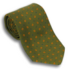 Olive Green with Paisley Pattern Tie