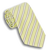 Light Green with Purple and White Striped  Tie