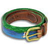 Fly Fishing Needlepoint Belt