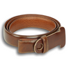 "1"" Honey Maple Calfskin Belt Strap"