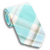 Summer Shades Plaid Cotton Tie