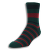 Over the Calf Striped Wool Dress Socks