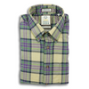 Navy, Purple, and Tan Plaid Viyella Sport Shirt