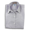 Lavender 80's 2-Ply Pinpoint Ladies Dress Shirt